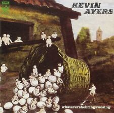NEW CD Album Kevin Ayers - WHATEVERSHEBRINGSWESING  (Mini LP Style Card Case)