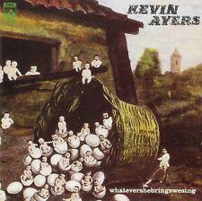 NEW CD Album Kevin Ayers - WHATEVERSHEBRINGSWESING  (Mini LP Style Card Case)