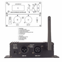 DMX512 Controller 2.4G Wireless Transmitter&Receiver System for Stage Lighting