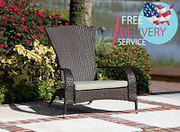 Patio Sense Wicker Chair Sofa Coconino Garden Furniture Cushion Outdoor Chairs