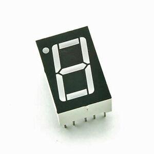 """10 pezzi Display LED 7 segmenti rosso anodo comune 0.56"""""""