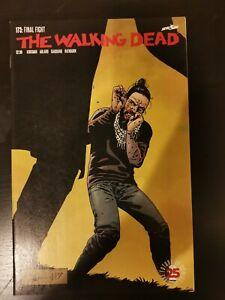 THE WALKING DEAD #173 (2017) FINAL FIGHT, KIRKMAN, ADLARD, 1st PRINT, NM