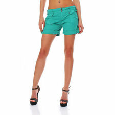 Shorts, bermuda e salopette da donna verde