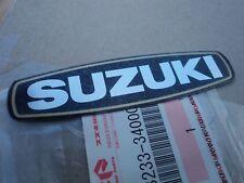SUZUKI GT185 GT500 GT380 GT550 A100 CONTACT BREAKER COVER EMBLEM DECAL GENUINE