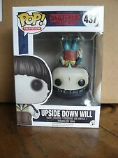 FUNKO POP UPSIDE DOWN EXCLUSIVE - STRANGER THINGS - FUNKO N°437 - NEUF