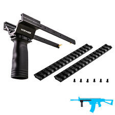 Worker MOD Combo 3PCS Pump Kit Picatinny Rail for Nerf RETALIATOR Modified Toy