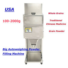 100-2000g Granular and Powder Filler Popcorn Peppermint Filling Machine Auto