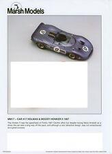 RARE Marsh Models 1/43 Kit - 1967 Can Am Honker II Andretti -  MM17  Mint in box