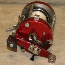 Red Abu Garcia Ambassadeur 7000 Baitcasting Fishing Reel Made in Sweden