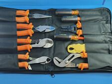 New Ideal 9pc10pc Insulated Electrician Tool Kit Set 1000v