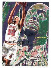 Matt Geiger 1995 Fleer Miami Heat NBA Insert Basketball Card