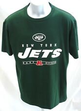 New York Jets Football Short Sleeve Shirt Green Medium New b28551ed0