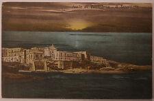 Cartolina Isola di Ventotene il Tramonto Latina Postcard Non Viaggiata