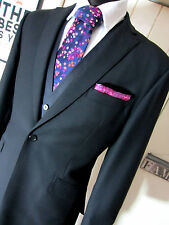Ozwald Boateng Bespoke Couture Single Button Suit UK 42 W 36 L 31 Dry Cleaned