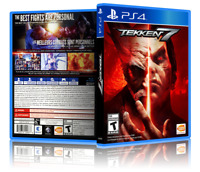 Tekken 7 - ReplacementPS4 Cover and Case. NO GAME!!