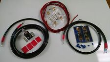 EXTREME DUTY DUAL / AUX BATTERY ISOLATOR & 2 GAUGE CABLES - COMPLETE KIT! 150A
