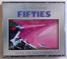 "The Fabulous Fifties "" Back To The Fifties "" 3 X C D Rock Doo-Woop Pop Classic"