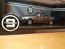 TRIPLE-9-COLLECTION 43065 Volvo 480 Turbo Cabrio 1990 (Gun Grey Metallic) 1/43 (