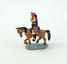 J CARLTON BY GAULT FRENCH MINIATURE FRENCH NATIONAL GUARD MAN RIDING HORSE