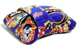 Vera Bradley Travel Blanket Paisley Swirls Retired Favorite NWT MSRP $40