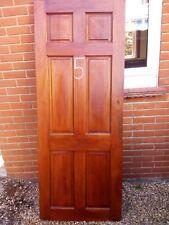 """Six Panel Solid Hardwood Interior Door (77"""" x 30"""" x 1.6""""/194cm x 75cm x 4.4)"""