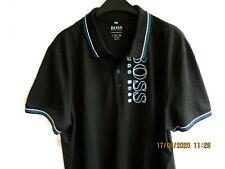 """Poloshirt von """"BOSS"""" in 3XL (56) in schwarz slim fit- !!NEU!!!"""