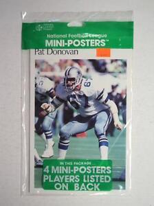 1983 Marketcom UNOPENED Mini Poster Pack Cowboys Donovan Downs Martin Breunig