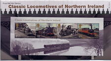 GB Presentation Pack 486 2013 CLASSIC LOCOMOTIVES OF NORTHERN IRELAND