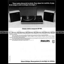 PHILIPS PLATINE TOURNE-DISQUE GF 614 ELECTROPHONE VINTAGE 1975 - Pub / Ad #A1413