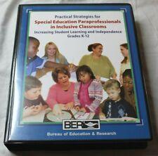Bureau of Education & Research Strategies Special Education Paraprofessionals