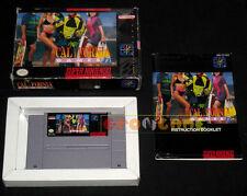 CALIFORNIA GAMES II 2 Super Nintendo Snes Versione NTSC Americana ○○○○○ COMPLETO