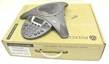 Polycom SoundStation IP 6000 Conference Phone VoIP PoE (2200-15600-001) - NEW
