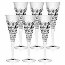 RCR Enigma Champagne Flute Crystal Champagne Glasses 210ml Set of 6