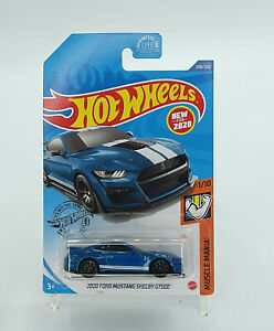 Hot Wheels Muscle Mania 2020 FORD MUSTANG SHELBY GT500 New Free Shipping