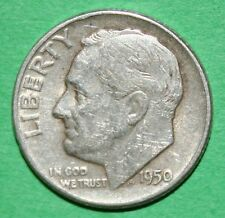 US Roosevelt silver Dimes Price per Each Coin 1950-P 1950-D  check inventory