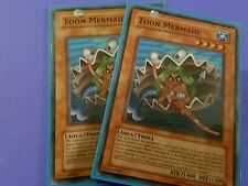 2x Toon Mermaid (various) -  Common Yugioh