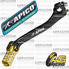 Apico Black Yellow Gear Pedal Lever Shifter For Suzuki RMZ 250 2014 Motocross MX