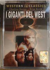 I GIGANTI DEL WEST JEWEL BOX DVD NUOVO SIGILLATO FUORI CATALOGO
