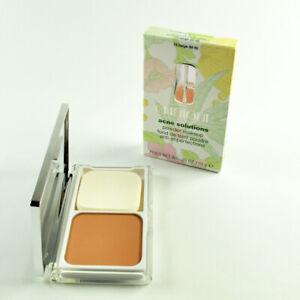 Clinique Acne Solution Powder Makeup #15 BEIGE - Size 0.35 Oz. / 10 g New