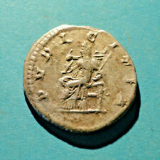 Very Good Julia Mamaea Denarius, PVDICITIA, (RIC 268)