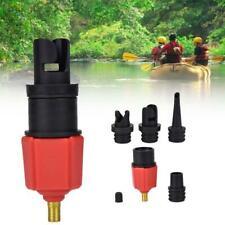 4PCS Adaptateur de Pompe Gonflable Soupape Pneu pour Bateau Pneumatique/Kayak