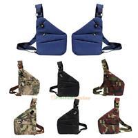 Men's Shoulder Bag Waist Crossbody Messenger Chest Pack Anti-Theft Sling Satchel