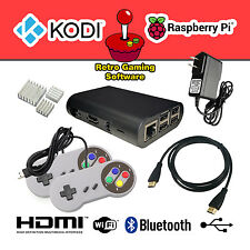 32GB Raspberry Pi Retro Gaming Console KODI RetroPie EmulationStation Included!