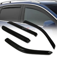 FOR 02-10 EXPLORER/MOUNTAINEER SMOKE WINDOW VISOR SHADE/VENT WIND/RAIN DEFLECTOR