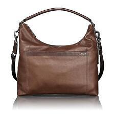 Tumi Brown Leather Centro Rialto Mobo Hobo Messenger Men's Bag 068610B RRP £499