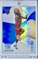 2018-19 Panini Collin Sexton Rookie Card RC Aqua Blue Prizm Cleveland Cavaliers