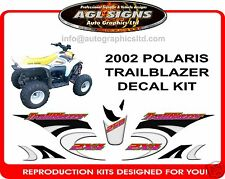 2002 POLARIS TRAILBLAZER  ATV 250 2X4 Reproduction Decal Set