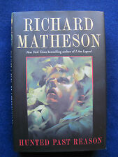 HUNTED PAST REASON - SIGNED by RICHARD MATHESON