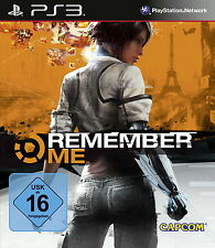 Remember Me (Sony PlayStation 3, 2013, DVD-Box)