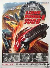 AFFICHE ANCIENNE DU FILM LA LIGNE ROUGE 7000 FILM DE HOWARD HAWKS 1965